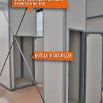 Spazio confinato verticale 100x100 h 350