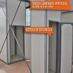 Spazio confinato verticale 60x60 h 350